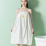 abordables -jupe de bain en polaire corail jupe supérieure tube absorbant épaissie jupe de bain douce et mignonne