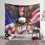 abordables -Tapisserie murale art décor couverture rideau suspendu maison chambre salon décoration polyester aigle drapeau américain