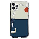 abordables -Chat Bande dessinée Cas Pour Pomme iPhone 12 iPhone 11 iPhone 12 Pro Max Modèle unique Étui de protection Motif Coque TPU