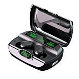 abordables -LITBest G6 Écouteurs sans fil TWS Casques oreillette bluetooth Bluetooth5.0 Stéréo pour Voyage et divertissement