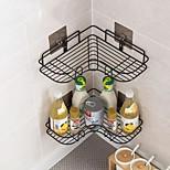 abordables -Bain Rangement Moderne contemporain Matériel mixte organisation de bain