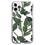 abordables -Plantes Botanique Floral Cas Pour Pomme iPhone 12 iPhone 11 iPhone 12 Pro Max Modèle unique Étui de protection Motif Coque TPU