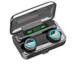 abordables -iMosi F9-3 Écouteurs sans fil TWS Casques oreillette bluetooth Bluetooth 5.1 Stéréo Avec Micro Avec contrôle du volume Affichage d'alimentation LED pour Sport Fitness