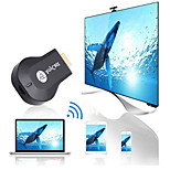 abordables -anycast m9 plus hdmi 2.0 sans fil hdmi extender transmetteur wifi display dongle dina airplay miracast
