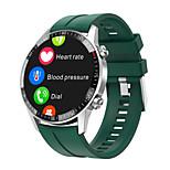 economico -696 Q88 Unisex Braccialetti intelligenti Bluetooth Schermo touch Monitoraggio frequenza cardiaca Misurazione della pressione sanguigna Chiamate in vivavoce Informazioni Avviso di chiamata