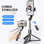 economico -l08 selfie stick anti-shake telecomando bluetooth treppiede 360 ruota smart phone supporto selfie vlog live show per iphone samsung huawei xiaomi ios dispositivi smart android