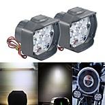 abordables -Moto LED Lampe Frontale Ampoules électriques 30 W 9 Pour motocyclettes Toutes les Années 2 pièces