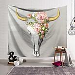 abordables -Tapisserie murale art décor couverture rideau suspendu maison chambre salon décoration polyester crâne