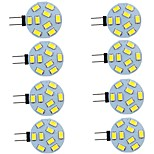 abordables -8 pièces 2 W LED à Double Broches 260 lm G4 9 Perles LED SMD 5730 Blanc Chaud Blanc Naturel Blanc 9-30 V