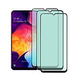 economico -telefono Proteggi Schermo Samsung A40 A10 A20 A30 Samsung Galaxy A50 Vetro temperato 3 pezzi Alta definizione (HD) Anti luce blu Proteggi-schermo frontale Appendini per cellulare