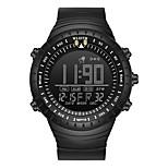 economico -WLISTH Per uomo Orologio digitale Analogico Digitale Sportivo Faccia grande Resistente all'acqua Cronografo Luminoso / Un anno / Silicone