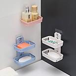 abordables -Rangement Bain Matériel mixte Moderne contemporain organisation de bain