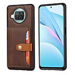 economico -telefono Custodia Per Xiaomi Per retro Porta carte di credito Poco X3 NFC Mi 10T Pro 5G Mi 10T 5G Poco M3 Redmi Note 9 4G Redmi Note 9 Pro Redmi Note 9 Pro Max Redmi Note 9S Mi 10T Lite 5G A