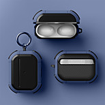 abordables -Coque Pour AirPods / AirPods Pro Antichoc / Frais Cas de casque Flexible