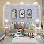 abordables -Stickers muraux 3D stickers muraux 3D stickers muraux décoratifs PVC décoration de la maison sticker mural décoration murale 1 pc 10 mètres