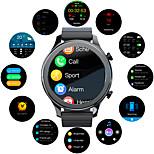 economico -TIME Intelligente Guarda per Android iOS Samsung Apple Xiaomi Bluetooth 1.28 pollice Misura dello schermo IP 67 Livello impermeabile Impermeabile Schermo touch Monitoraggio frequenza cardiaca