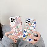 economico -telefono Custodia Per Apple Per retro iPhone 12 Pro Max 11 SE 2020 X XR XS Max 8 7 Resistente agli urti Fantasia / disegno Fiore decorativo TPU