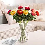 abordables -fleur artificielle en plastique moderne contemporain fleur de table 1pc