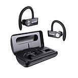 abordables -AWEI T22 Écouteurs sans fil TWS Casques oreillette bluetooth Bluetooth5.0 Stéréo Avec Micro LA CHAÎNE HI-FI Avec boîte de recharge IPX4 étanche pour Téléphone portable
