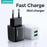 abordables -Joyroom Chargeur rapide Chargeur de portable Pour Pour Téléphone Universel Portable Charge Rapide 12 W Puissance de sortie RoHs CE
