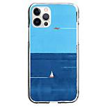 abordables -Nautique Cas Pour Pomme iPhone 12 iPhone 11 iPhone 12 Pro Max Modèle unique Étui de protection Motif Coque TPU