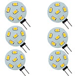 abordables -6 pièces 2 W LED à Double Broches 200 lm G4 6 Perles LED SMD 5730 Blanc Chaud Blanc Naturel Blanc 9-30 V