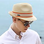 economico -Di tendenza Pastorale Paglia cappelli con Intagli 1 pezzo Festa / Serata / Casuale Copricapo