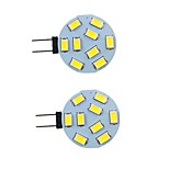 abordables -2 pièces 2 W LED à Double Broches 260 lm G4 9 Perles LED SMD 5730 Blanc Chaud Blanc Naturel Blanc 9-30 V