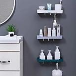 abordables -Outils / Crochets Lavable / Auto-Adhésives / Rangement Moderne contemporain Matériel mixte 3 pièces - Accessoires organisation de bain