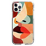 economico -Creativo Bocca Astuccio Per Mela iPhone 12 iPhone 11 iPhone 12 Pro Max Design unico Custodia protettiva Fantasia / disegno Per retro TPU