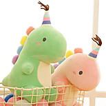 abordables -Peluche Oreiller de couchage Animaux en Peluche Dinosaure Jurassique Dinosaure Col bombé Animaux Cadeau Mignon Doux Pluche Jeu imaginatif, bas, grands cadeaux d'anniversaire fournitures de faveur de