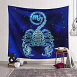 abordables -Tapisserie murale art décor couverture rideau suspendu maison chambre salon décoration polyester scorpion