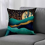 economico -double side 1 pz fodera per cuscino geometri stampa 45x45cm lino per divano camera da letto