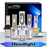 abordables -OTOLAMPARA Automatique LED Lampe Frontale Ampoules électriques 9000 lm CSP 55 W 2 Pour Volvo / Volkswagen / Toyota Mazda3 / Mazda6 / fleuve Toutes les Années 2 pièces