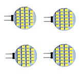 abordables -4 pièces 2 W LED à Double Broches 280 lm G4 24 Perles LED SMD 2835 Blanc Chaud Blanc 9-30 V