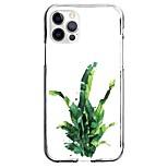 abordables -Plantes Floral / Botanique Cas Pour Pomme iPhone 12 iPhone 11 iPhone 12 Pro Max Modèle unique Étui de protection Motif Coque TPU