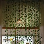 abordables -12 pièces feuillage de vigne artificielle 220 cm feuilles artificielles vigne décoration murale fête de mariage vigne décorative