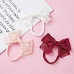 abordables -1 PCS Bébé Fille Actif / Doux Usage quotidien Rouge Couleur Pleine Noeud Nylon Accessoires Cheveux Blanche / Rouge / Rose Claire