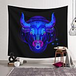 abordables -Tapisserie murale art décor couverture rideau suspendu maison chambre salon décoration polyester antilope