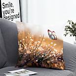 economico -federa per cuscino 1pc lino morbido semplice classico quadrato copriletto federa federa per divano camera da letto 45 x 45 cm (18 x 78 pollici) qualità superiore lavabile in lavatrice