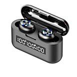 abordables -iMosi X35 Écouteurs sans fil TWS Casques oreillette bluetooth Bluetooth5.0 Deux pilotes Avec Micro Avec contrôle du volume LA CHAÎNE HI-FI Avec boîte de recharge pour Téléphone portable