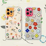 economico -telefono Custodia Per Apple Per retro iPhone 12 Pro Max 11 SE 2020 X XR XS Max 8 7 Resistente agli urti Fantasia / disegno Floreale TPU