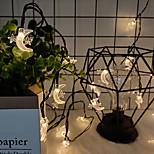 economico -ha condotto le luci della stringa fata solare impermeabile 6.5m 30leds ramadan moon stars 8 modalità stringa di luce natalizia ramadan festival wedding patio garden party eid mubarak decorazione luci
