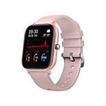abordables -P9 Smartwatch Montre Connectée pour Android iOS Samsung Apple Xiaomi Bluetooth Imperméable Moniteur de Fréquence Cardiaque Mesure de la pression sanguine Sportif Elégant Rappel d'Appel Moniteur de