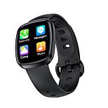 abordables -T8 Smartwatch Montre Connectée pour Android iOS Samsung Apple Xiaomi Bluetooth IP 67 Niveau imperméable Moniteur de Fréquence Cardiaque Mesure de la pression sanguine Sportif Calories brûlées Elégant