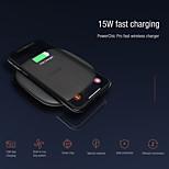 abordables -Nillkin Chargeur Sans Fil Pour Pour Téléphone Universel Portable Qi 15 W Puissance de sortie RoHs CE PSE