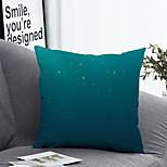 abordables -1 pcs Polyester Housse de coussin Taie d'oreiller et insert, Fleurs et plantes simple Classique Carré Zip Polyester Traditionnel Classique