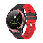 abordables -696 GW20 Unisexe Bracelets Intelligents Bluetooth Imperméable Moniteur de Fréquence Cardiaque Mesure de la pression sanguine Calories brûlées Mode Mains-Libres Chronomètre Podomètre Rappel d'Appel