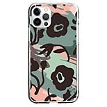 abordables -A Fleur Cas Pour Pomme iPhone 12 iPhone 11 iPhone 12 Pro Max Modèle unique Étui de protection Motif Coque TPU