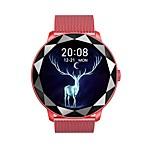 economico -696 YH8 Per donna Braccialetti intelligenti Bluetooth Monitoraggio frequenza cardiaca Misurazione della pressione sanguigna Sportivo Assistenza sanitaria Ciclo fisiologico femminile Cronometro